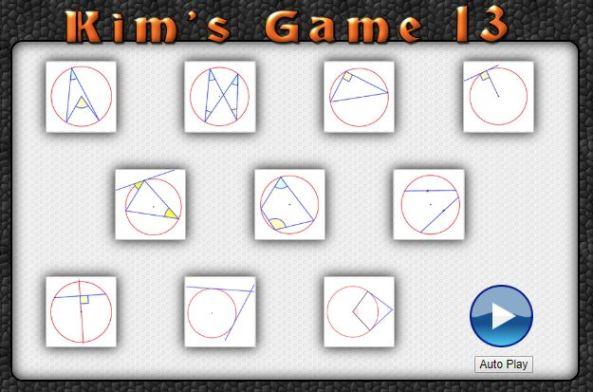 Transum Kim's Game