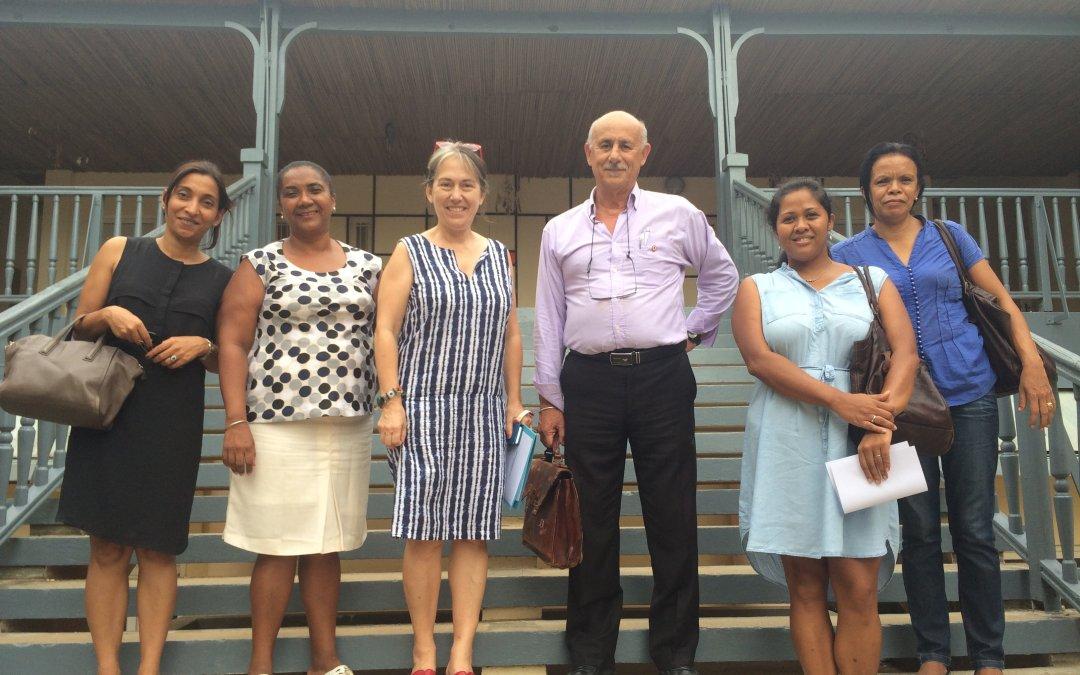 Visite de Monsieur CHAOUI, conseiller consulaire, au Collège français