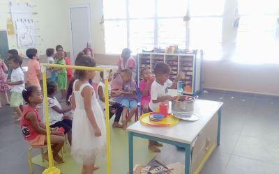 Fête des mères à la classe de TPS-PS-MS/B