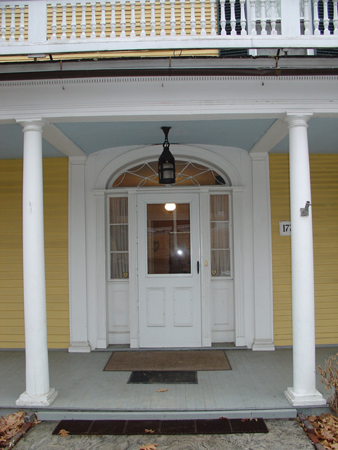 Two Story Front Porch