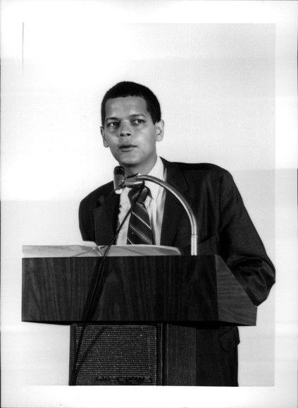Julian Bond Speaks at MVCC - 1970s