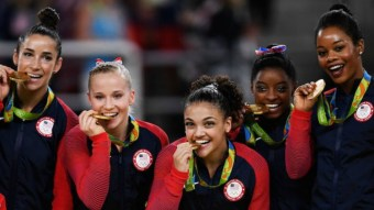 This Is Why Olympians Bite Their Gold Medals