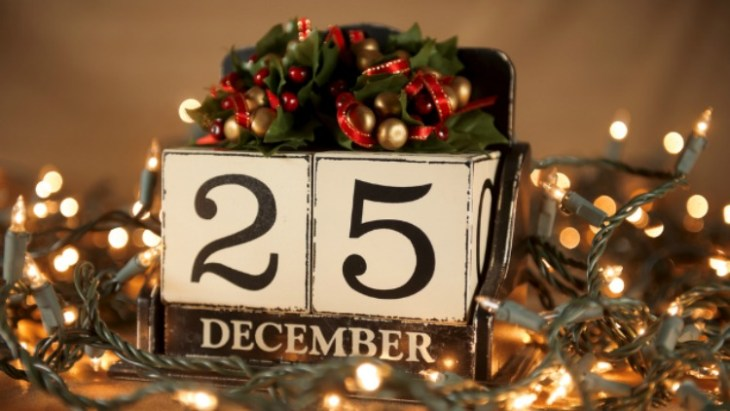 is Christmas Day a federal holiday?