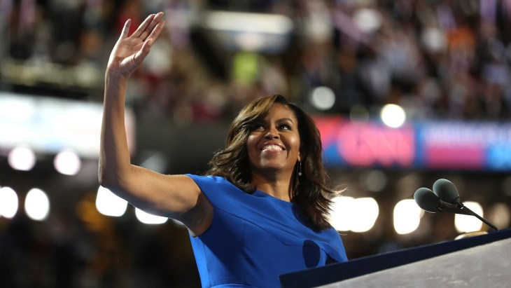 Michelle Obama most inspirational moments