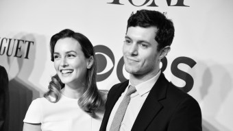 Leighton Meester & Adam Brody Dress Up As Blair Waldorf & Seth Cohen Once A Year