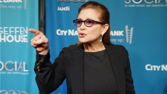 Carrie Fisher Retaliated Against A Creepy Producer By Sending Him A Cow Tongue