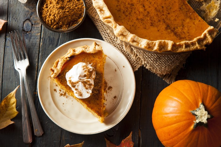Pumpkin Pie Holiday Table