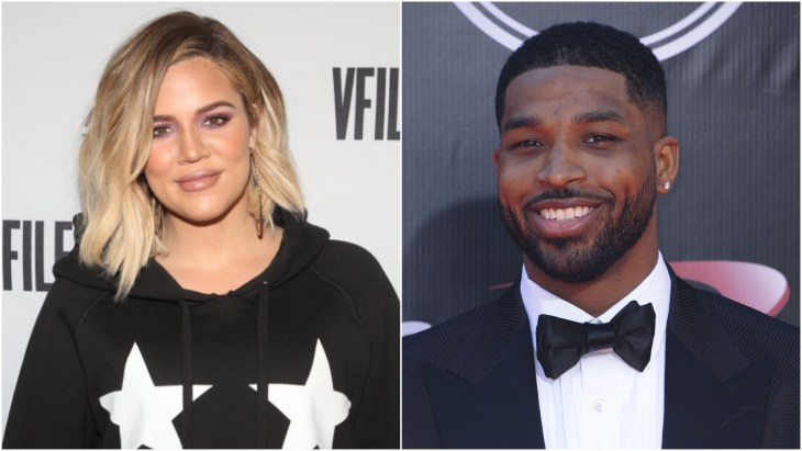 Tristan Thompson at the ESPYS and Khloe Kardashian at the Good American pop up store