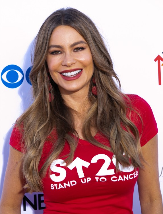 Sofia Vergara at the 2018 Stand Up To Cancer fundraiser