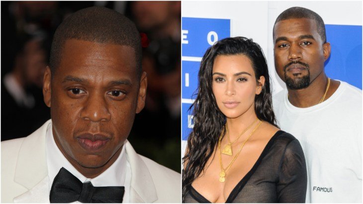 Jay-Z at the 2014 Costume Institute Gala and Kim Kardashian and Kanye West at the 2016 MTV VMAs