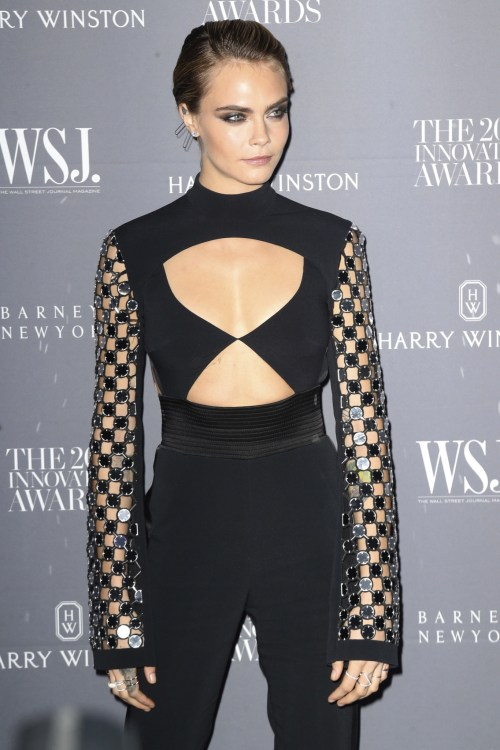 Cara Delevingne at the WSJ Magazine Innovator Awards 2018 made the highest paid models 2018 list