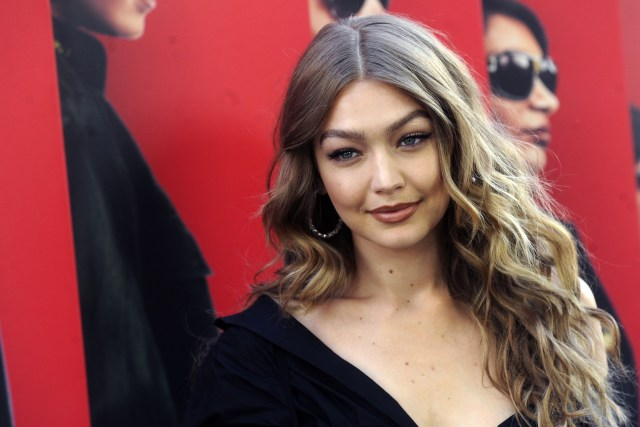 Gigi Hadid at the World premiere of Ocean's 8