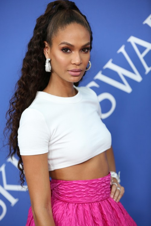 Joan Smalls at the 2018 CFDA Awards and made the highest paid models 2018 list