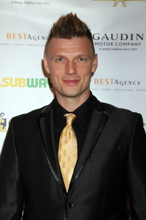 Nick Carter at the 9th Annual Grant A Gift Autism Foundation