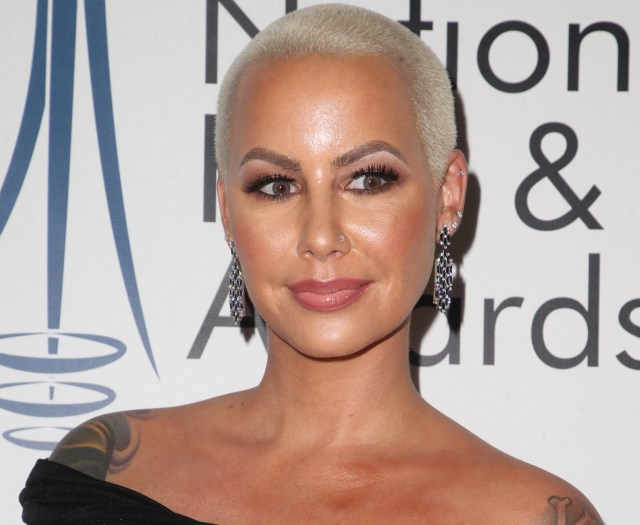 Amber Rose at the The National Film and Television Awards 1st annual UK awards