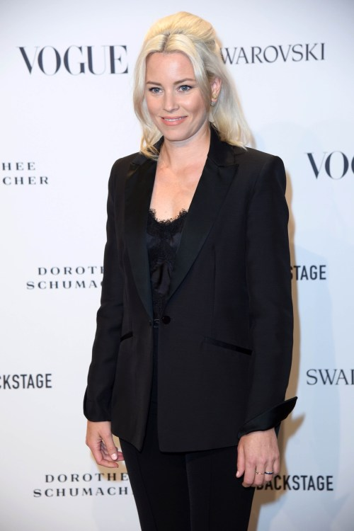 Elizabeth Banks at the Vogue Fashion Party as part of Berlin Fashion Week Spring/Summer 2019