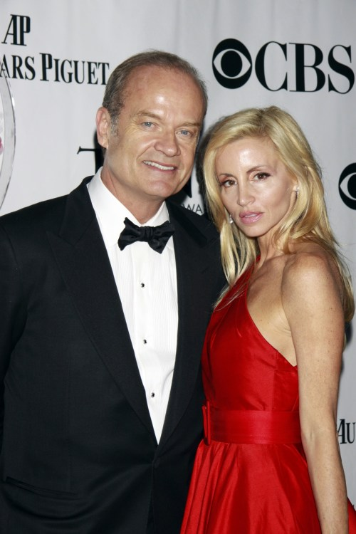 Kelsey Grammer and Camille Grammer The 64th Tony Awards