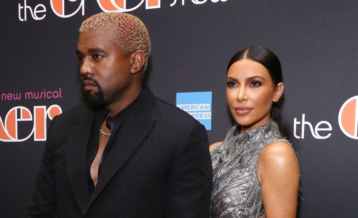Kim Kardashian Kanye West at the opening night of The Cher Show on Broadway