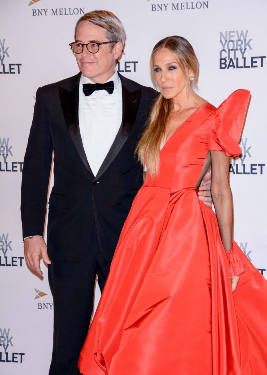 Sarah Jessica Parker and Matthew Broderick at the 2018 Ballet Fall Gala in NYC