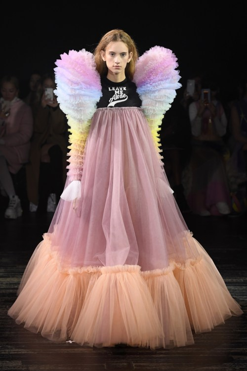 Viktor & Rolf leave me alone Couture Dress