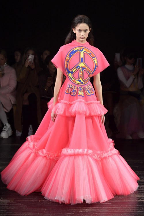 Viktor & Rolf peace Couture Dress