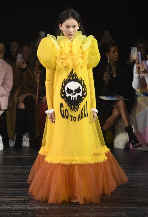 Viktor & Rolf Go To Hell Couture Dress