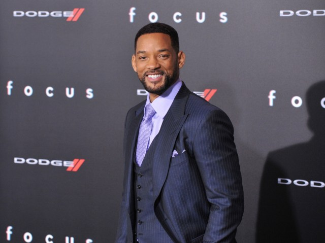 Will Smith, looking dapper as usual.