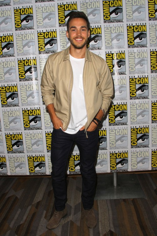 Chris Wood at Comic-Con Saturday 2017 at the Comic-Con International Convention on July 22, 2017 in San Diego, CA