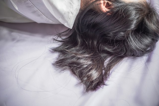 Sleeping With Your Hair Loose