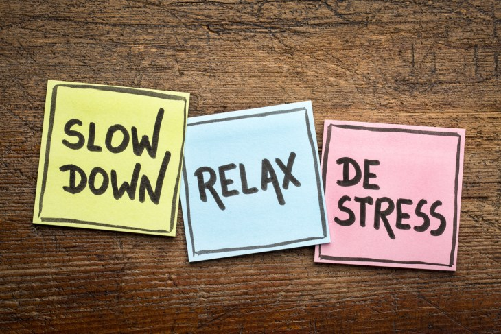 Tips and tricks on how to de-stress in college.