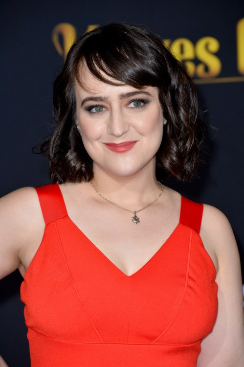 "Mara Wilson at the premiere of ""Knives Out"" at the Regency Village Theatre."