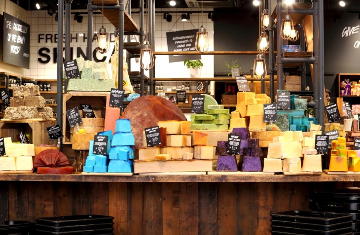 Lush store front