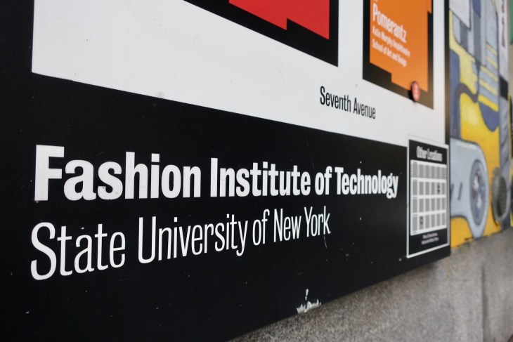 fashion institute of technology sign
