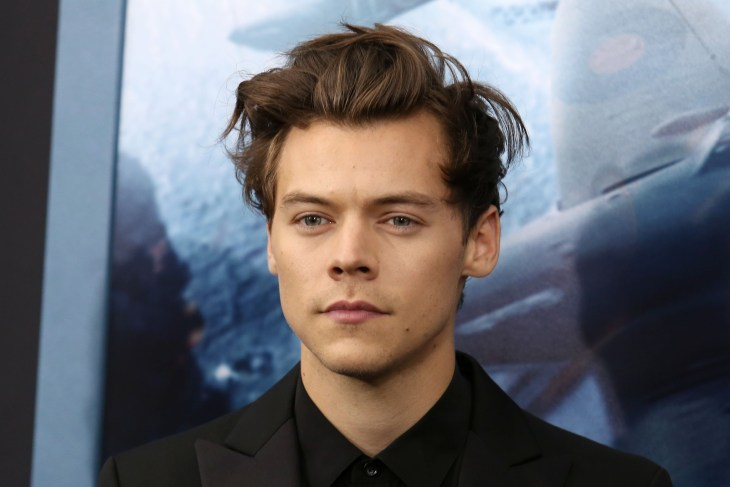 "Harry Styles attends the premiere of ""Dunkirk"" at AMC Loews Lincoln Square"