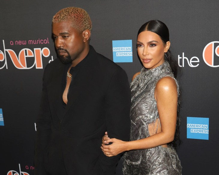 """Kanye West and Kim Kardashian West attend the Broadway opening night of """"The Cher Show"""""""
