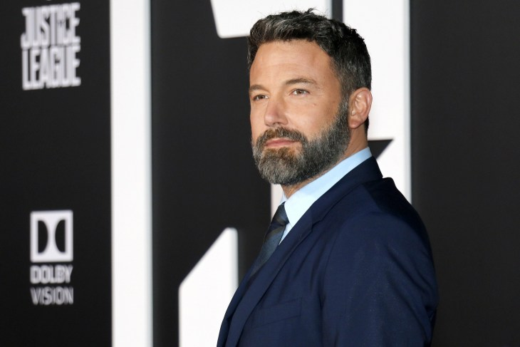 Ben Affleck at the World premiere of 'Justice League'