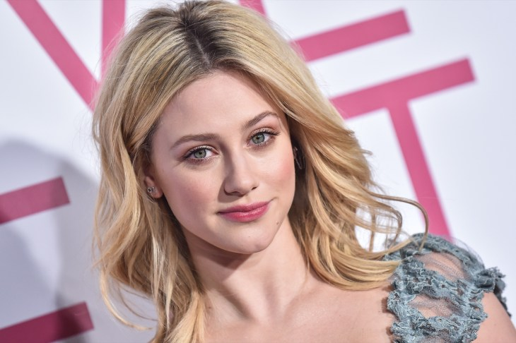 Lili Reinhart on the red carpet of the 'Five Feet Apart' premiere in Los Angeles.