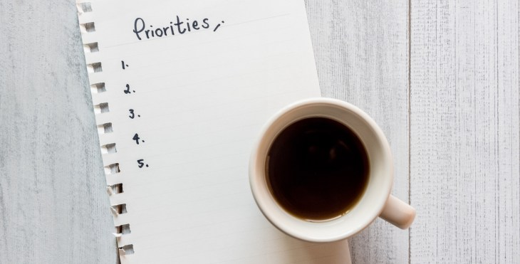 Make a priority list