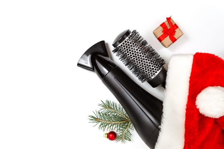 Hair Tools In Christmas Decoration