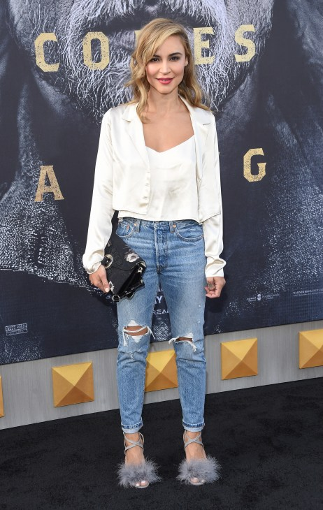 Samaire Armstrong standing
