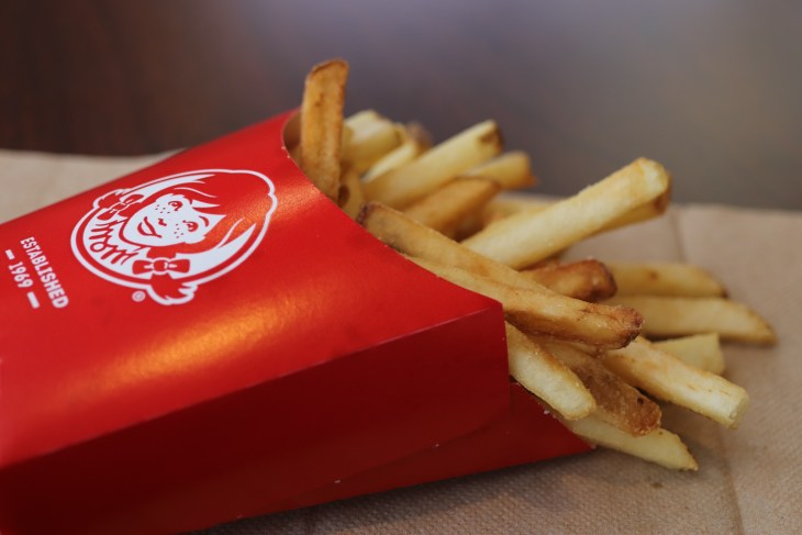 Picture of Wendy's fries