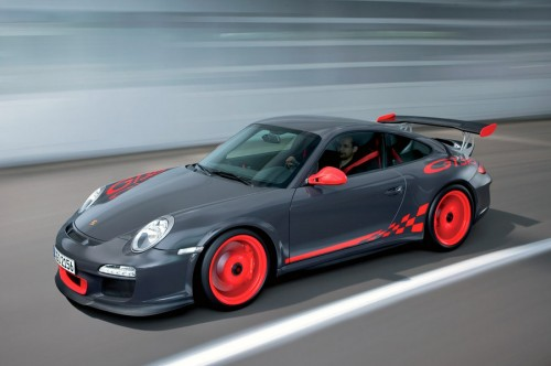 2010 Porsche 911 GT3 RS, seen here being enjoyed by General Zod.
