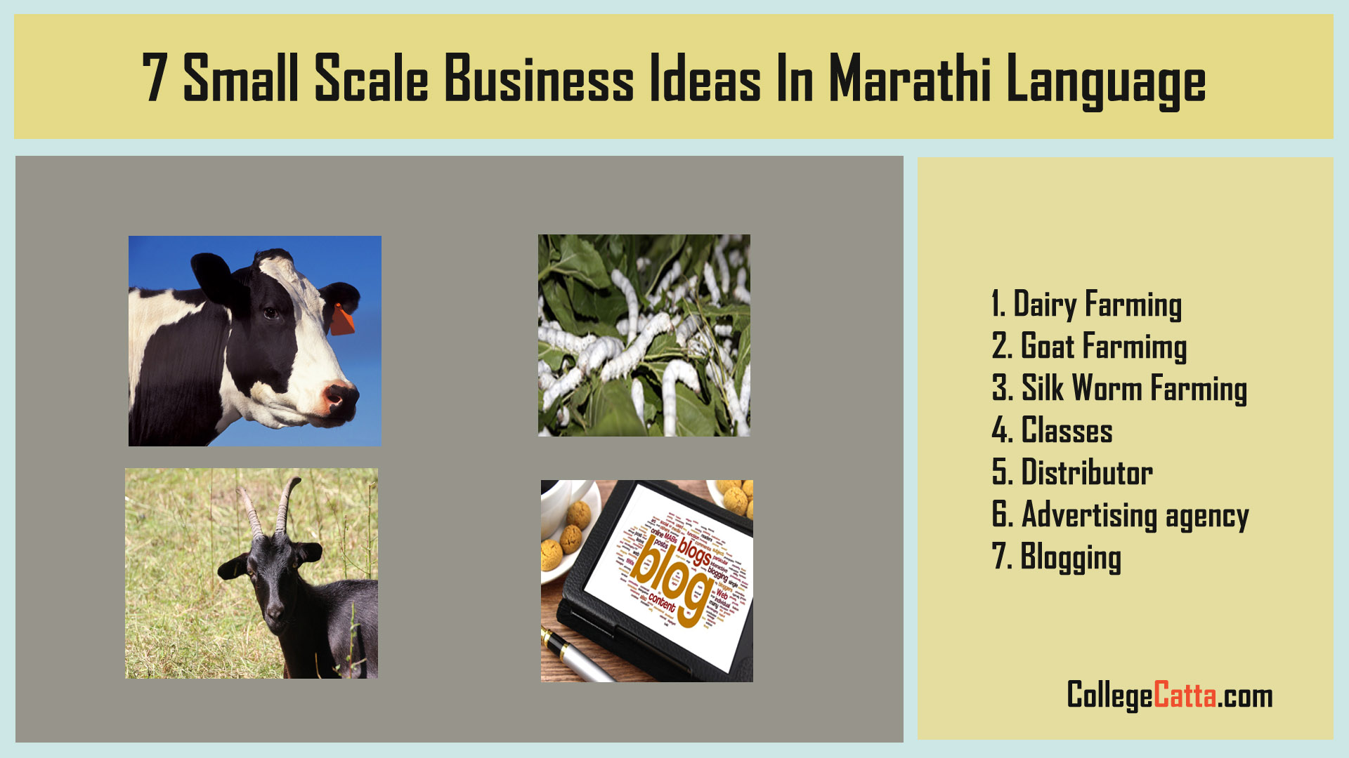 7 Small Scale Business Ideas In Marathi Language