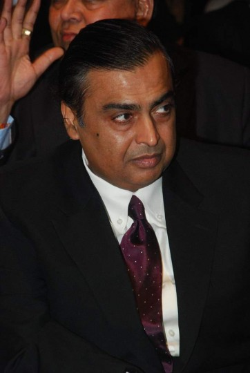 Mukesh Ambani information Biography in Marathi
