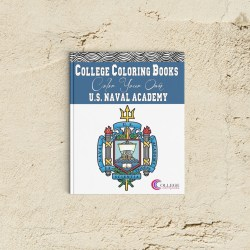 College Coloring Books Color Your Own US Naval Academy Coloring Book