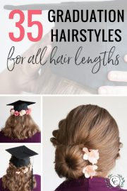 graduation hairstyles and 3