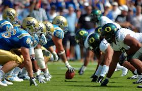 oregon line of scrimmage