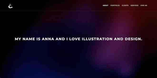 Anna Ellenberger Website