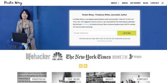 Kristin Wong Website