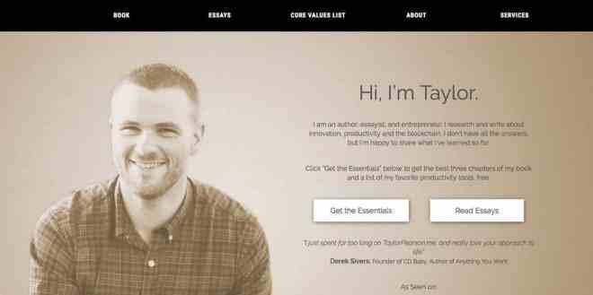Taylor Pearson Website